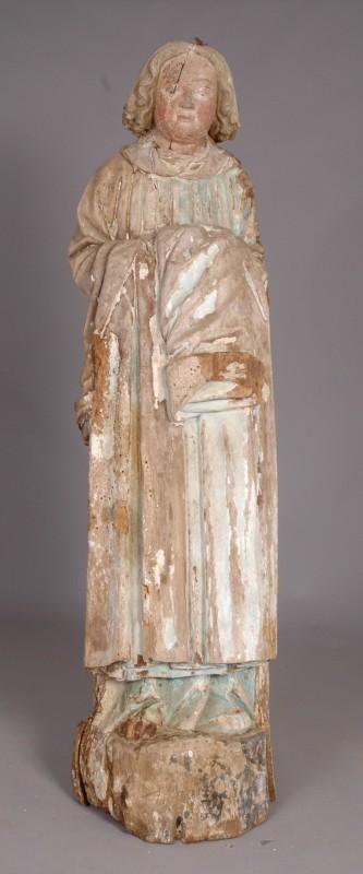statuette religieuse en plâtre
